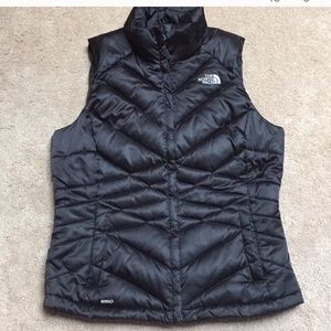 North Face goose down vest!